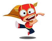 SUPER CHICO - DisneyXD Character and Enviroment Design