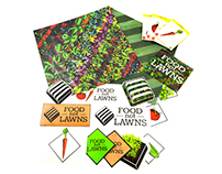 Food Not Lawns: Re-brand & promotional package