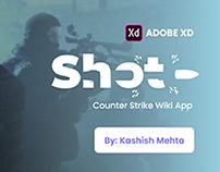 Shot App UI: Counter Strike Wiki App