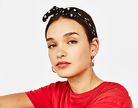 Dots scarves for SS18 Bershka Collection