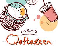 menu- qaftazeen