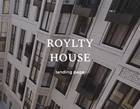 Landing page for real estate