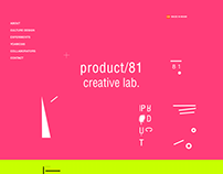 Product/81 Creative Lab Website 14'