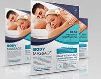 Massage Flyer Template