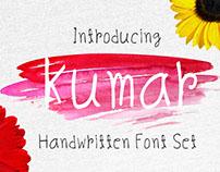 Kumar Handy Hand Writing Font Set