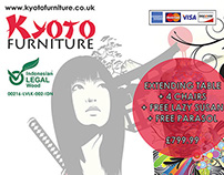 'Kyoto Furniture' Large Promotional Banner