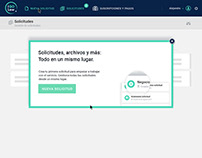 Diseño Web Admin para ¨IGoLAW¨