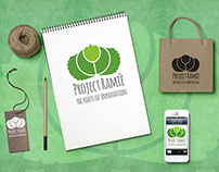 Logo/ Project Ramiè – The roots of innovation