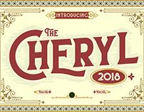 The Cheryl Font