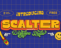 SCALTER - Free Typeface