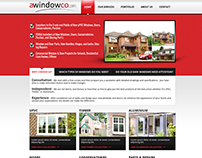 Webdesign for A Window Co.