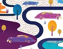 Illustration for POPCORN MAGAZINE