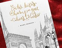 Entre Taças de Champagne e Cálices de Vinho | Cover