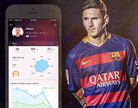About football fans app Design