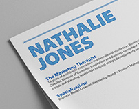 Nat Jones - Marketing Professional CV