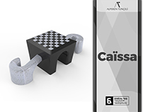 Caïssa Outdoor Chessboard