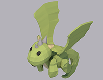 Little Dragon - Low Poly