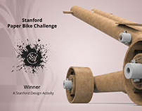Stanford Paper Bike Challenge