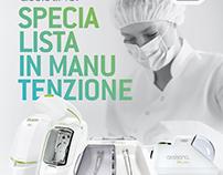 """Anuncio """"Especialistas en Mantenimiento"""" W&H Italia"""