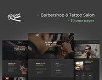 Nelson - Barbershop & Tattoo WordPress Theme
