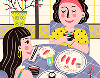 Japanese Cuisine | Personal Work