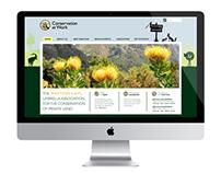 Website design for Conservation At Work
