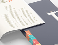 Nature In Type [perfect bound book - team project]