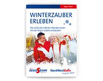 Winterwanderbroschüre | NordWestBahn
