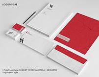 Cabinet Géomètre Victor Alberola - Branding