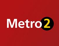 Budapest Metro Line 2 _ signage & wayfinding system