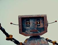 Short robot animation