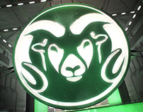 Colorado State Rams Football Intro