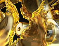 CGI / 3D - Pistons & Oil