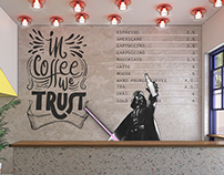 COFFEE SHOP DESIGN | IOANNINA, GR | 2018