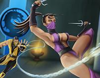 Scorpion vs Mileena