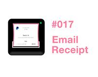 #017 Email Receipt