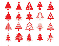 80+ Free christmas tree icons