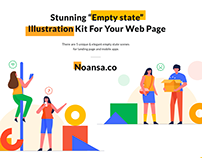 Empty States Illustration Kit