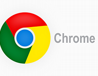 Google Chrome Logo illustration - Adobe Illustrator CC