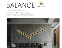 BALANCE wall lights from FLUA