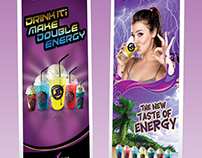 Electric Shock Roll up Designs