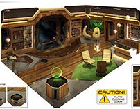 PREY/Environments designs
