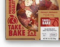 Fresh & Easy | Take & Bake Pizza