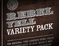 Rebel Yell 750mL Variety Pack