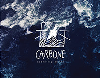 Carbone / sparkling water