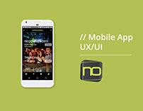 Mobile App Design for Night Observer