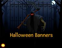 Halloween Banners 2018