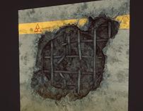 Radioactive underground