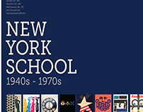 NEW YORK SCHOOL POSTER DESIGN