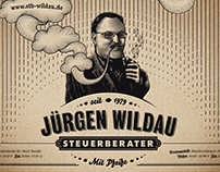 Tax Accountant Jürgen Wildau – Poster.